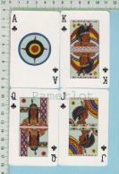 4 Cartes A Jouer (Amérindien Woodland Du Quebec Et Ontario ) Native Are Woodland Indians Canada - Cartes à Jouer