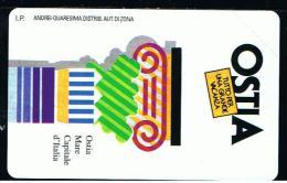 07 - ITALIA - TESSERA TELEFONICA PUBBLICA PUBBLICITARIA NO. 157  NUOVA - Pubbliche Speciali O Commemorative