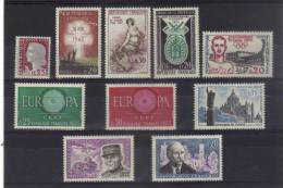 France Timbres Neufs** De 1960  N°1263 A 1272 - Unused Stamps