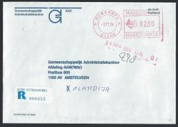 Registered Cover From Kumanovo To Netherland; 03-11-1994 - Macedonia