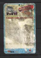 Ticket De Bus Et Parking.  (Voir Commentaires) - Bus