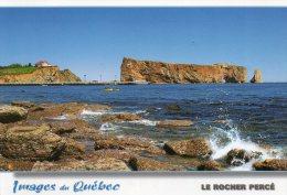 - QUEBEC - GASPESIE - LE ROCHER PERCE. - Stamp - Format 17x12 - Scan Verso - - Percé