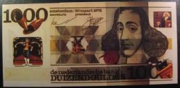 Billet Hollandais De 1000 Florins  En 3 Cartes - Monnaies (représentations)
