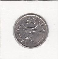 50 BUTUTS Cupro-nickel 1971 - Gambie