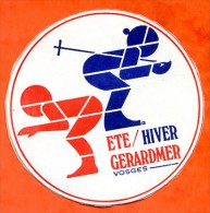 Autocollant GERARDMER 88 Vosges ETE HIVER Ski - Stickers