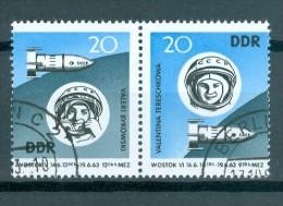 DDR - ZD 971 - 970 - W Zd 92 Gestempelt - [6] República Democrática
