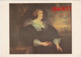 Les Chefs D'Oeuvre Du Musée De Lille - Anton Van DYCK - Portrait De Marie De Médicis - Museum