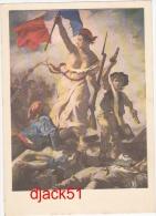 Musée Du Louvre - Peinture Française - Le XIXe Siècle - EUGENE DELACROIX - La Liberté Guidant Le Peuple (détail) - Museen