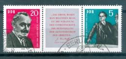 DDR - Mi-Nr. 893 - 894 - W Zd 31 Gestempelt (5) - [6] République Démocratique