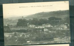CPA ( 78) MAULE Vallee De La Mauldre Quartier De La Gare  - Abp19 - Maule