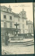 CPA 78 MANTES La Fontaine Place Du Palais De Justice  - Abp24 - Mantes La Jolie