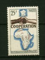 Rep. Gabon ** N° 174 - Coopération Avec La France - Gabon (1960-...)