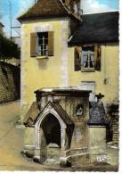 36 Indre N°7427 La Châtre Fontaine Ste Radegonde M.Roussel Tampon Musée George Sand - La Chatre