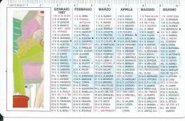 CAL474 - CALENDARIETTO 1997 - BUFFETTI - Calendari