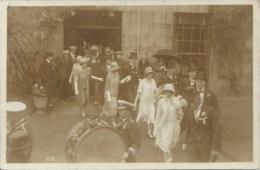 Royaume Uni - Carte Photo - Brass Band - Orchestre - Musiciens - Couples De Danseurs - Unclassified