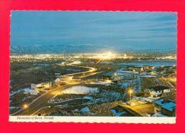 U.S.A.  NEVADA  -  RENO  -  1801  Panorama Of Reno Portraying The City's Night Activities  ( 1974 ) - Reno
