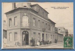 76 - YVETOT -- Hôtel Du Commerce - Rue De.... - Yvetot