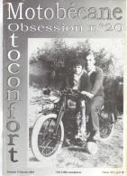 REVUE MOTOBECANE OBSESSION MOTOCONFORT - No 20 - Auto/Moto