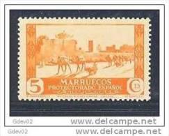MA150-LA468TCO. Marruecos Maroc Marocco MARRUECOS ESPAÑOL.VISTAS Y PAISAJES. 1935/37  (Ed 150**) Sin Charnela RARO - Otros