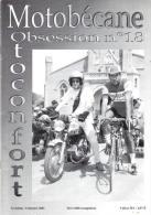 REVUE MOTOBECANE OBSESSION MOTOCONFORT - No 18 - Auto/Moto