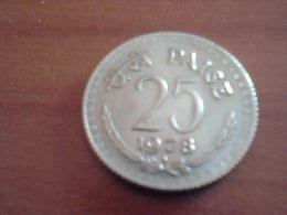 INDIA 25   PAISE 1978 B KM# 49.2 - India