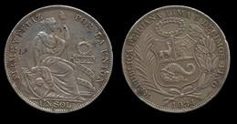 PEROU . 1 SOL . 1934 . - Pérou