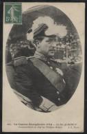 CPA - ROI ALBERT 1er - Commandant En Chef Les Troupes Belges - Edition J.C. Paris / N°64 - Familles Royales