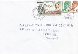 Senegal 1991 Dakar Colobane Nelson Mandela Nobel Prix Winner Cover - Nobelprijs