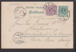 D.R.Mif Krone-Adler + Pfennig (3860) - Duitsland