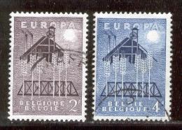 Belgium 1957 Europa CEPT VF USED (S826) - 1957