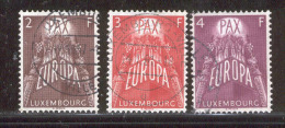 Luxembourg 1957 Europa CEPT VF USED (S834) - Europa-CEPT