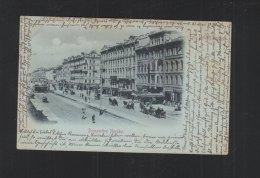 Russia PPC St. Petersburg Nevsky Prospect 1898 - Russia