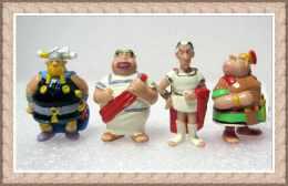 Kinder 1997 : Ast�rix en Am�rique : Les 3 Romains : S�nateur Lucullus - Jules C�sar  - Centurion + Grossebaf le viking