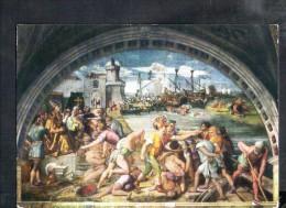 F1035 Raffaello: Stanza Dell´incendio, Battaglia D´ Ostia - Citta Del Vaticano, Stanze Di Raffaello - Altre Guerre