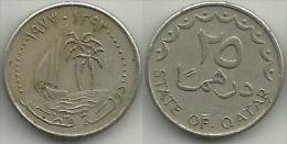 Qatar, A.D. 1973, 25 Dirham - Qatar