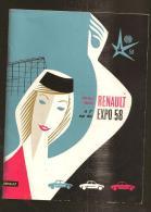 @ EXPOSITION RENAULT 1958 EN BELGIQUE - Publicités