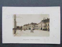 AK NAGYVARAD ORADEA Bahnhof 1918  //  D*9131 - Rumänien