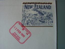 == NZ 1999   20 $  Stamp On Cv. Red Cancel Post Shop  !! - Neuseeland