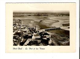 50 - CP Années 50 Format Cpm - PORT BAIL - VUE AERIENNE - LE PORT ET LES DUNES - 930 - Otros Municipios