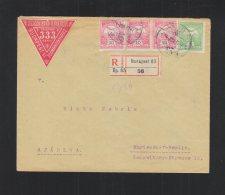 Hungary Registered Cover 1911 To Mariendorf-Berlin - Hungary