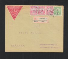 Hungary Registered Cover 1911 To Mariendorf-Berlin - Briefe U. Dokumente