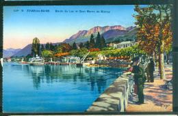 Evian Les Bains -    Bord Du Lac Et Quai Baron De Blonay  - Abp113 - Evian-les-Bains