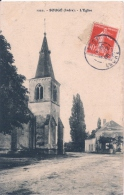 1222. - SOUGE (Indre) . -L'Eglise CPA écrite En 1909 - Sonstige Gemeinden