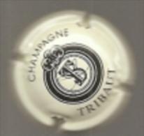 CAPSULE MUSELET CHAMPAGNE TRIBAUT Noir Sur Crème - Tribaut