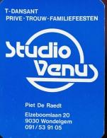 Kalender Calendrier 1985 - Pub. Reclame Studio Venus Wondelgem - Calendriers