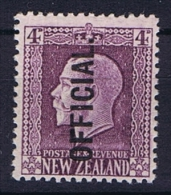 New Zealand: 1925  Mi D 31 C  Perfo 14 : 13,5, MNH/** - Officials