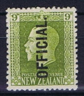 New Zealand: 1925  Mi D 32  MH/* - Dienstzegels