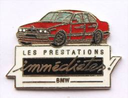 Pin's BMW - Les Prestations Immédiates - BMW 318 Rouge - Démons & Merveilles - C971 - BMW