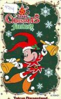 Télécarte Japon DISNEY * 110-203686 * NOEL * CHRISTMAS  (4214) Japan Phone Card - Disney