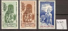 Inde PA 7 à 9 * Côte 3 € - India (1892-1954)
